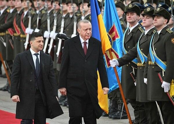 Zelensky's visit to Turkey has begun
