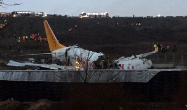İstanbuldakı təyyarə qəzasına görə pilot həbs edildi