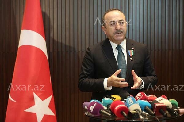 Çavuşoğlu BƏƏ XİN başçısı ilə danışdı
