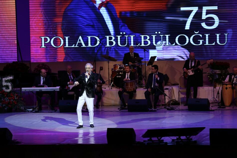 Polad Bülbüloğlunun yubiley konserti keçirildi