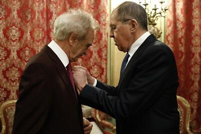 Lavrov will meet with Polad Bulbuloglu