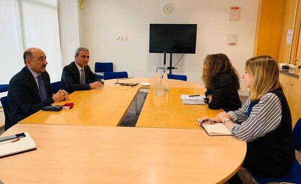Abulfas Garayev met with Caroline Meaby
