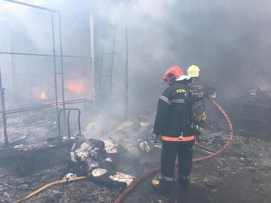 """""""Sədərək""""də neçə mağaza yandı? – Rəsmi"""