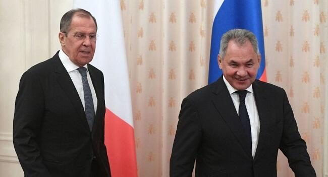 Lavrov, Shoigu hold meeting with Italian Counterparts