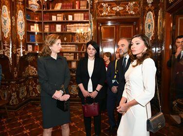 Mehriban Aliyeva at the Quirinale Palace -