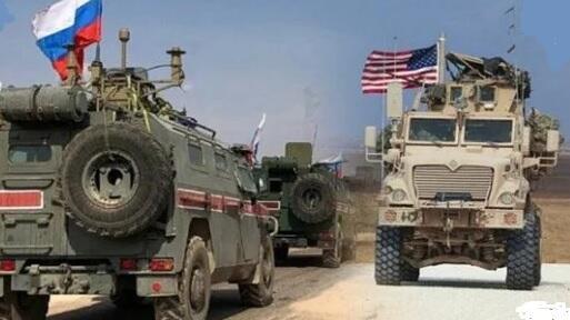 ABŞ texnikası rus hərbi maşınını yoldan çıxardı - Video