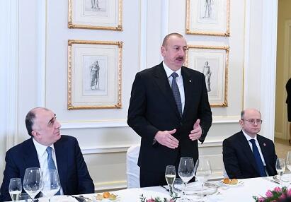 Prezident İtaliyada iqtisadi hədəflərini açıqladı