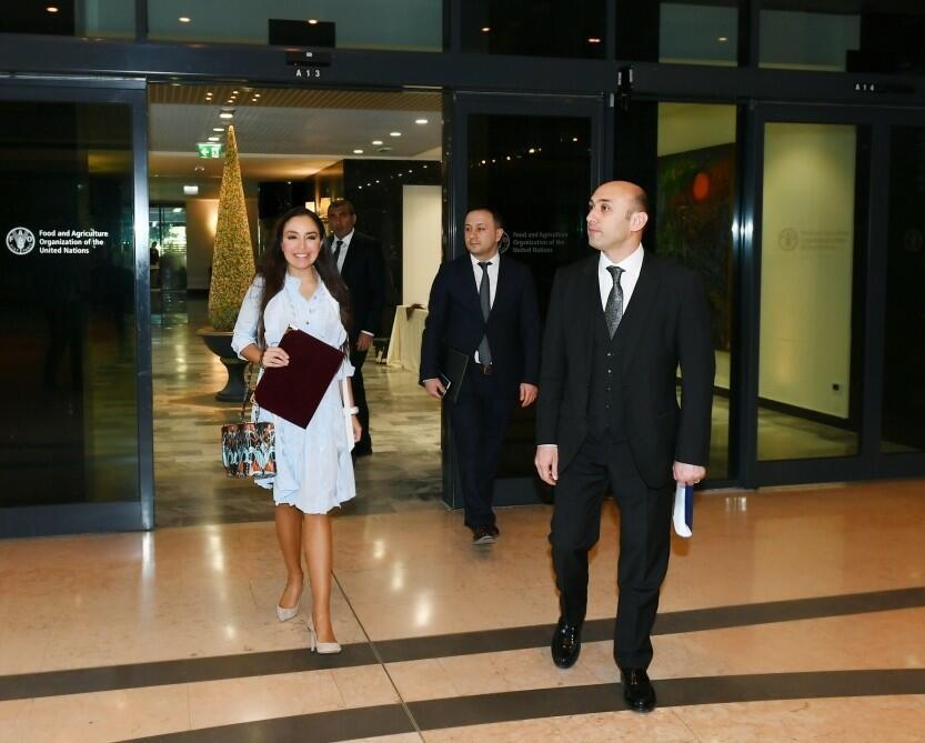 Leyla Əliyeva FAO-nun baş direktorunu ölkəmizə dəvət etdi