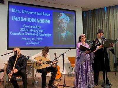 UCLA Library celebrates Azerbaijani poet -