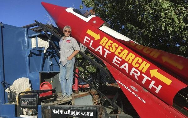 'Mad' Mike Hughes dies after crash-landing homemade rocket