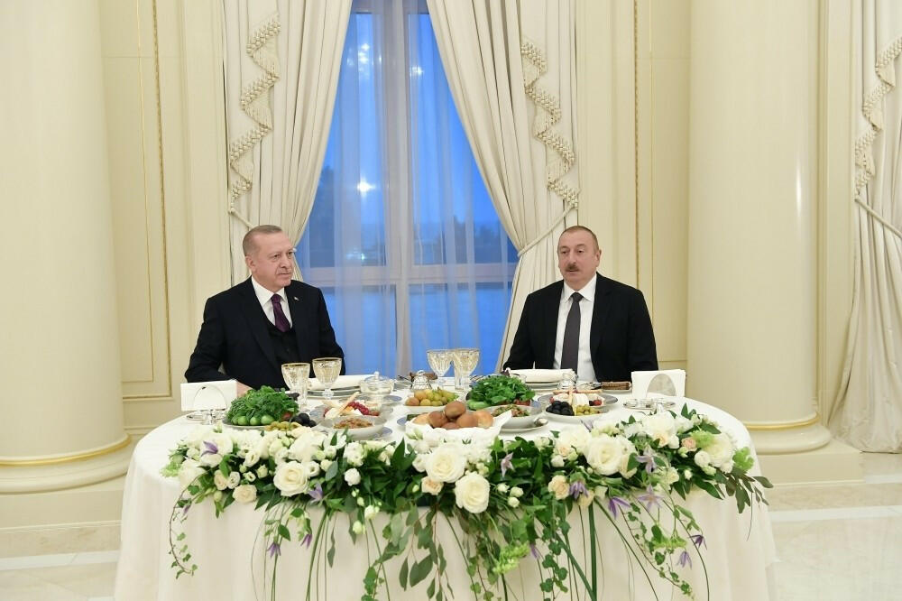 Reception was held in honor of Erdogan in Baku