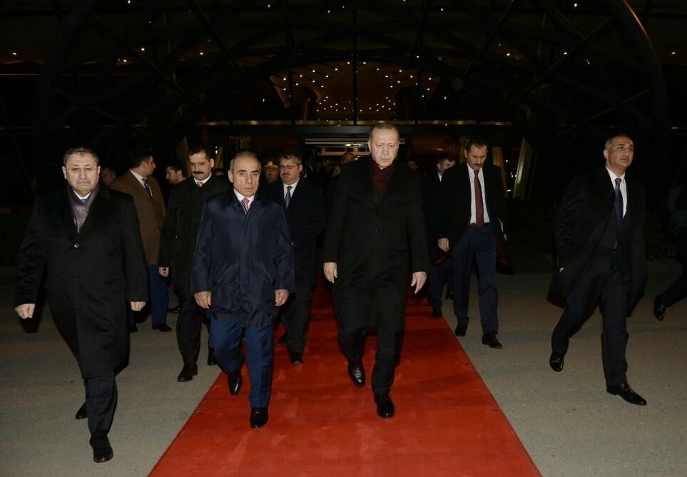 Erdogan's visit to Azerbaijan has ended