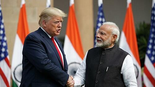 Моди и Трамп обсудили ситуацию с коронавирусом