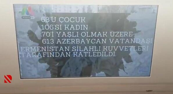 İstanbul nəqliyyatında Xocalı soyqırımı anılır - Video