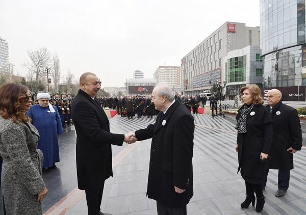 Ильхам Алиев встретился с Аязом Муталибовым - Фото