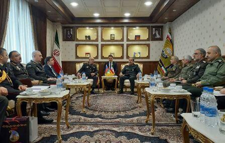 Azerbaijan's military delegation visits Iran