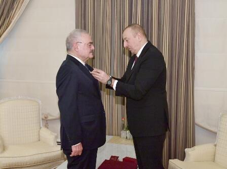 President awarded Arthur Rasizade with an order -