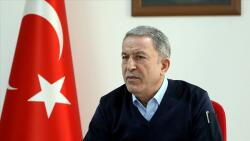 Telephone conversation between Akar and the Pentagon chief