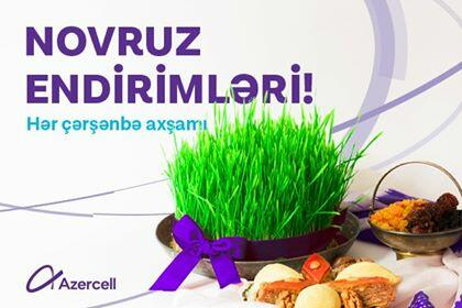 Azercell will present your first Novruz gift