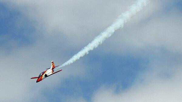 Самолет ВВС Испании упал в море