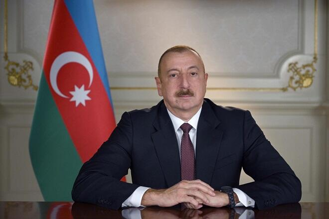 Ilham Aliyev`s post on the April battle