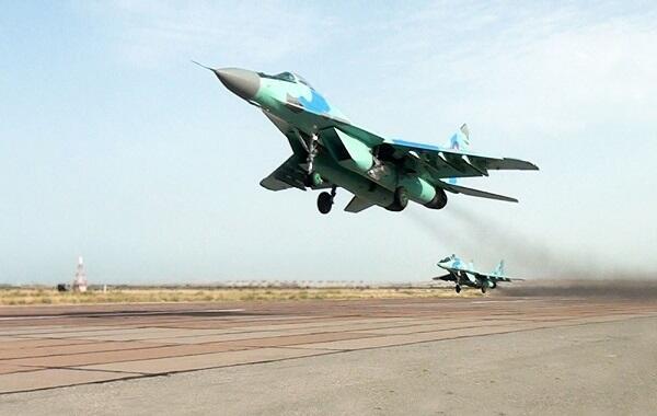 Осуществлена передислокация боевой авиации - Видео