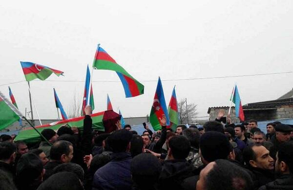 Tovuz succeeds martyrs with applause - Video