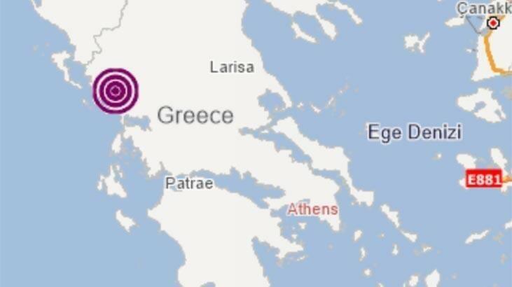 Yunanıstanda yenidən güclü zəlzələ oldu