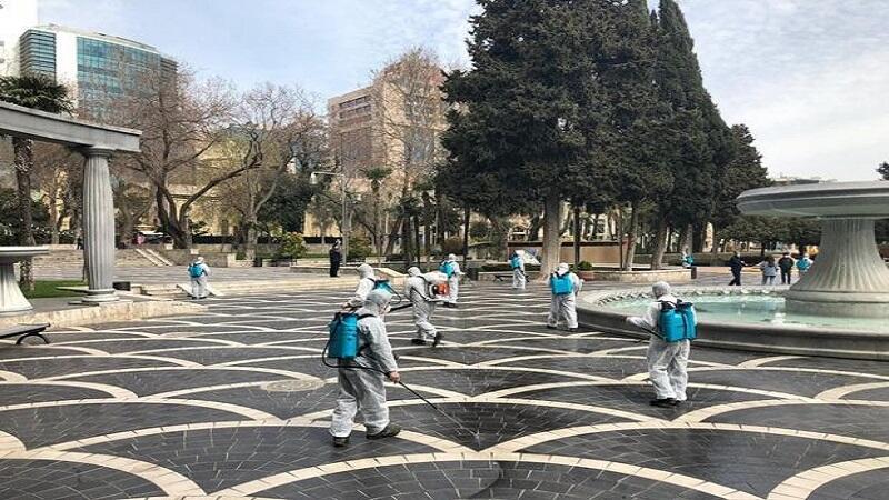 ИВ: В Баку в зданиях и во дворах дезинфекция бесплатна