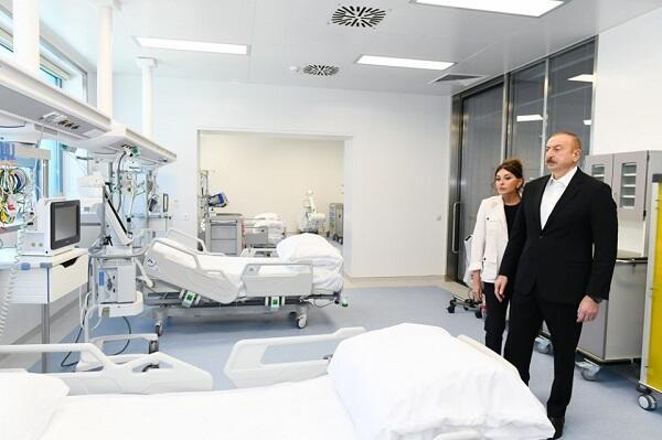 """""""Yeni klinika"""" niyə vaxtından tez açıldı? - Prezident"""
