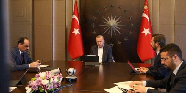 Erdogan held meeting with Hakan Fidan