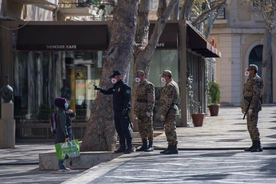 Karantin rejimi: Ordumuz DİN-ə köməyə cəlb edildi
