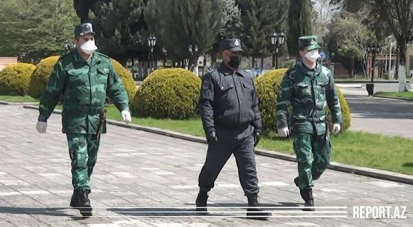 FHN və DSX hərbçiləri polis və orduya yardıma gəldi
