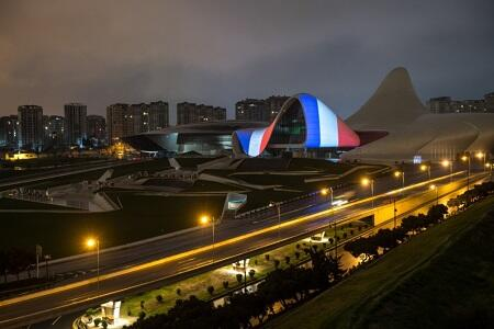 Heydar Aliyev Center supports France amid COVID-19
