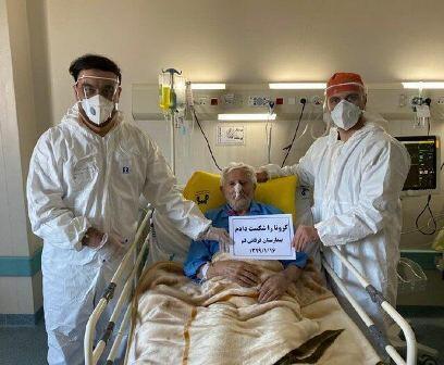 ایراندا ۱۰۶ یاشلی کیشی کوروناویروسدان ساغالدی-فوتو