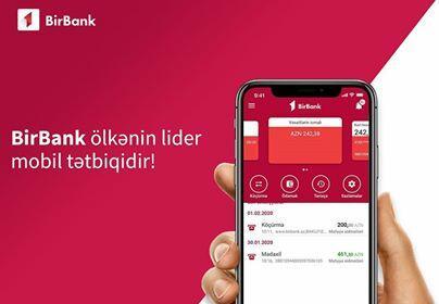 BirBank ölkənin lider mobil tətbiqidir!