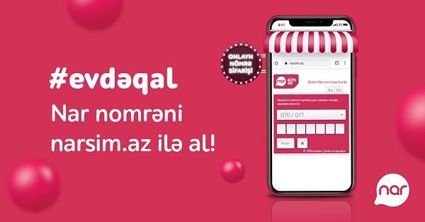 """""""Nar"""" karantin rejimi müddətində xidmətə davam edir"""