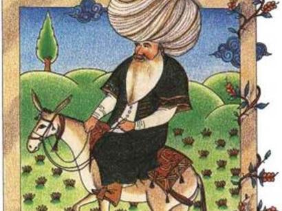 ملانصرالدین زبان صدای مردم در دوسوی آراز