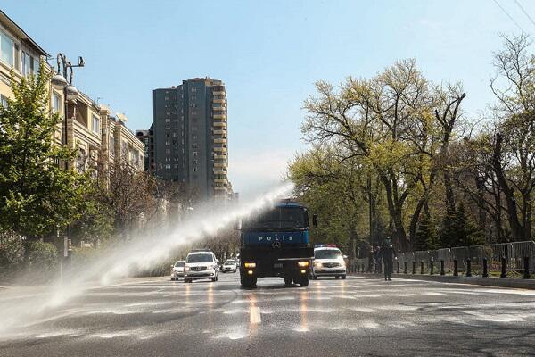 Завтра в Баку проведут усиленные дезинфекционные работы