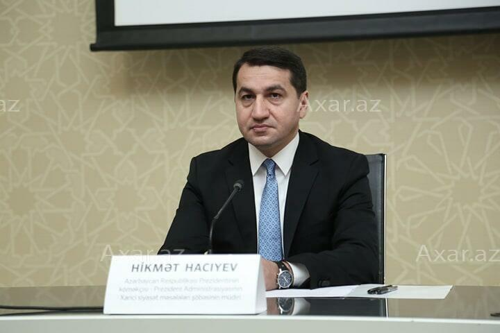 Hajiyev: Reaction to Russia's sending weapons to Armenia