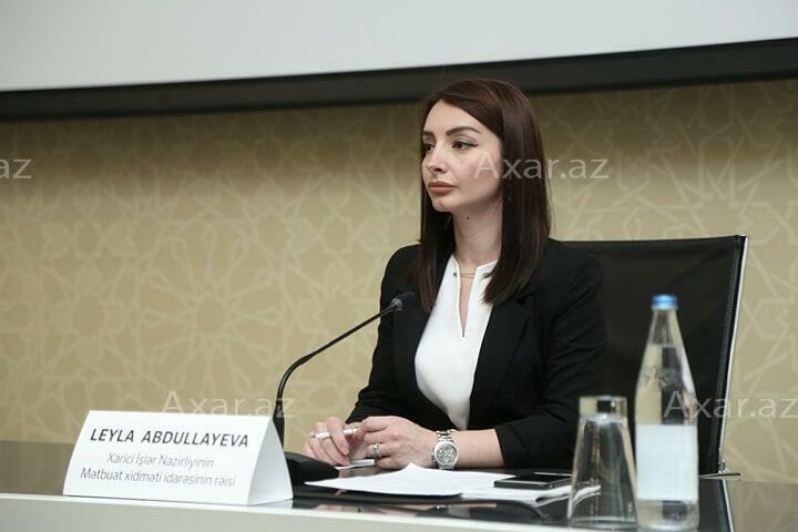 Leyla Abdullayeva responds to Armenian MFA