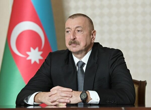 Ilham Aliyev expressed condolences to Zelensky