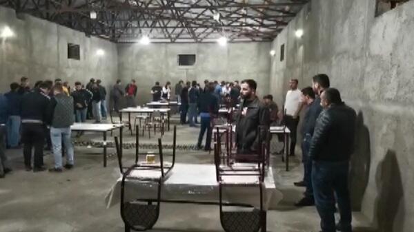 """""""Kəlbəcər"""" restoranında karantini pozan şəxslər tutuldu"""