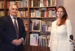 Pashayeva visited Rasulzade at home -