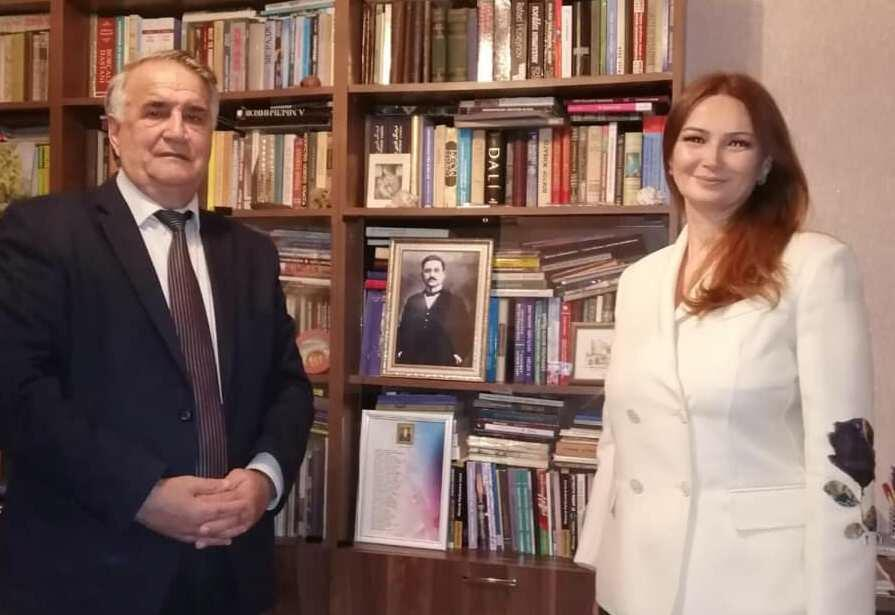 Pashayeva visited Rasulzade at home -