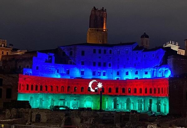 Италия так поздравила Азербайджан с Днем Республики