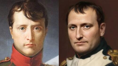 Голландский фотограф воссоздал лицо Наполеона