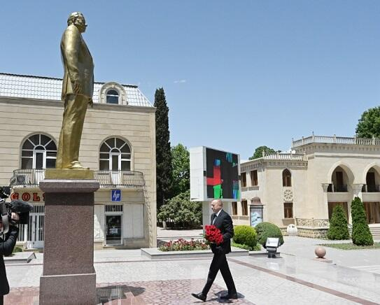 Ilham Aliyev went to Tartar -