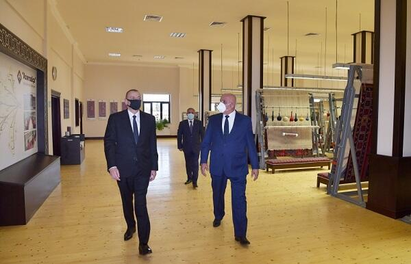 Ilham Aliyev visited a military unit in Agdam