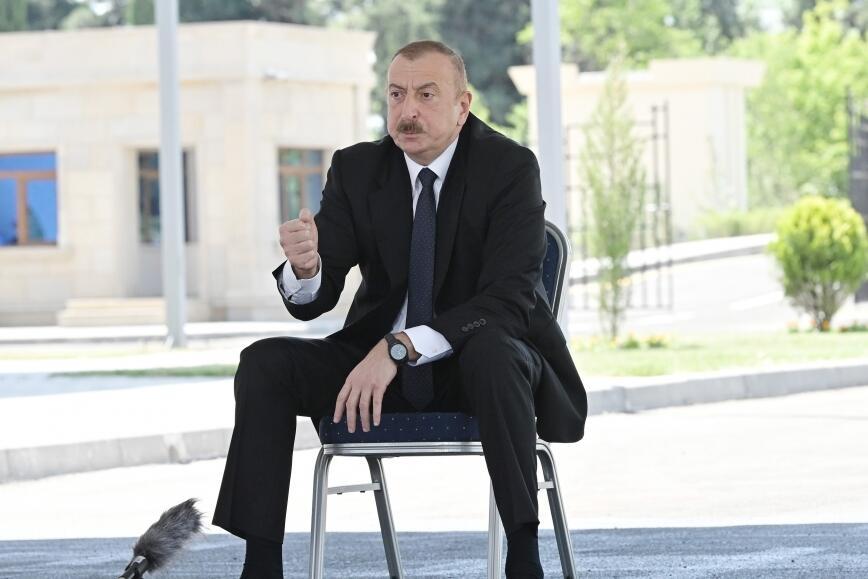 Ağdərə, Füzuli, Cəbrayılın bir hissəsini azad etdik - Prezident